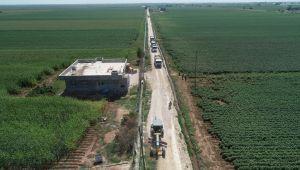 Eyyübiye Belediyesi Kırsalda Da Yol Yapımını Aralıksız Sürdürüyor
