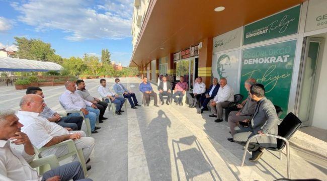 Gelecek Partisi Bozova'da Esnafı Ziyaret Etti!