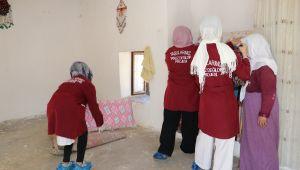 Karaköprü'de Evde Bakım Hizmeti Sürüyor