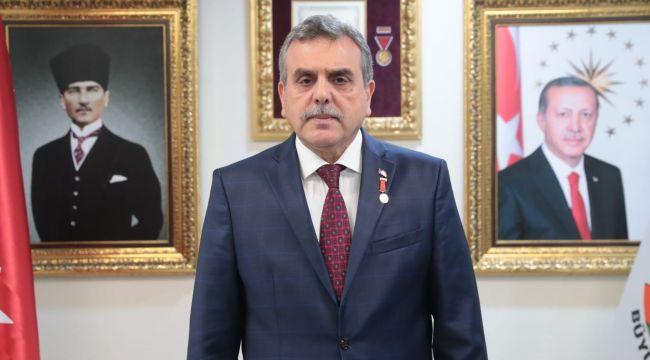 """Başkan Beyazgül:"""" Cumhuriyet Bayramımız Kutlu Olsun"""""""