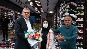 Başkan Beyazgül'den İzmir'de Esnaf ve STK Ziyaretleri