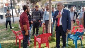 CHP Milletvekilleri Şanlıurfa'da Mekik Dokuyor (fotoğraflı)